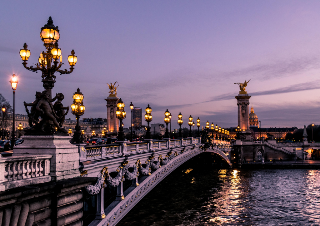 photo du pont Alexandre 3 Paris