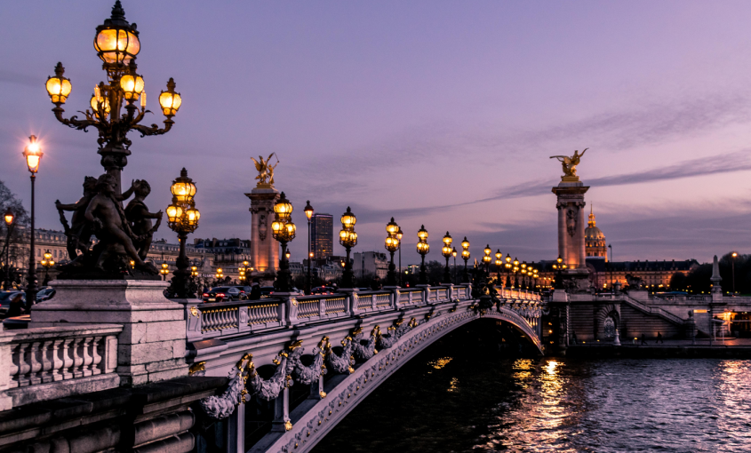 photo du pont Alexandre 3 Paris